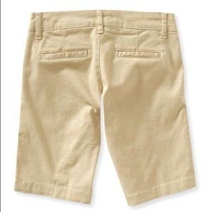 J. Crew City Fit Tan Chino Shorts